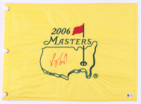 Vijay Singh Signed 2006 The Masters Golf Pin Flag (Beckett COA) at PristineAuction.com