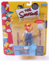 "Dan Castellaneta Signed ""The Simpsons"" Groundskeeper Willie Figurine (Beckett COA) at PristineAuction.com"