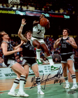 "Nate Archibald Signed Celtics 8x10 Photo Inscribed ""HOF 91"" (Playball Ink Hologram) at PristineAuction.com"