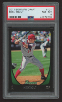 Mike Trout 2011 Bowman Draft #101 RC (PSA 8) at PristineAuction.com