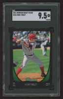Mike Trout 2011 Bowman Draft #101 RC (SGC 9.5) at PristineAuction.com