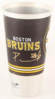 David Pastrnak Signed Bruins Souvenir Cup (Pastrnak COA) at PristineAuction.com