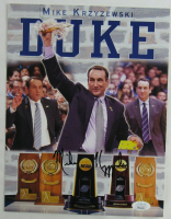 Mike Krzyzewski Signed Duke Blue Devils 8.5x11 Photo (JSA COA) at PristineAuction.com