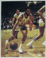 Walt Frazier Signed Knicks 16x20 Photo (JSA COA) at PristineAuction.com