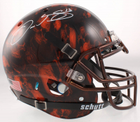 Odell Beckham Jr. Signed Browns Full-Size Authentic On-Field Hydro Dipped Helmet (JSA COA) at PristineAuction.com