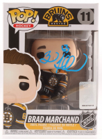Brad Marchand Signed Bruins #11 Funko Pop! Vinyl Figure (Marchand COA) at PristineAuction.com