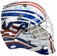 Mike Richter Signed Team USA Full-Size Goalie Mask (JSA COA) at PristineAuction.com