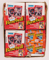 1990 Donruss Baseball Wax Card Case with (20) Boxes at PristineAuction.com