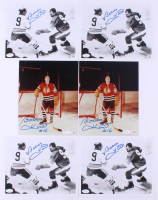 Lot of (6) Bobby Hull Signed Blackhawks 8x10 Photos (JSA COA & Autograph Reference Hologram) at PristineAuction.com