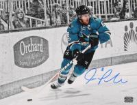 Joe Pavelski Signed Sharks 11x14 Photo (Pavelski Hologram) at PristineAuction.com