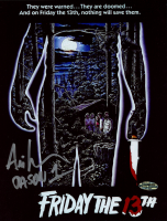 """Ari Lehman Signed """"Friday the 13th"""" 8x10 Photo Inscribed """"Jason 1"""" (Playball Ink Hologram) at PristineAuction.com"""
