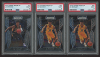 Lot of (3) Ja Morant 2019 Prizm Draft Picks PSA Graded 9 Basketball Cards with (1) #2 RC & (2) #65 RC at PristineAuction.com