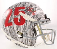 Clyde Edwards-Helaire Signed Chiefs Full-Size Authentic On-Field Hydro-Dipped Helmet (Beckett COA) at PristineAuction.com