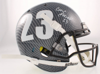 Cam Akers Signed Rams Full-Size Authentic On-Field Hydro-Dipped Helmet (Beckett COA) at PristineAuction.com