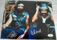 "Cheech Marin & Tommy Chong Signed ""Cheech & Chong's Next Movie"" 8x10 Photo (JSA COA) at PristineAuction.com"
