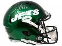 Vinny Testaverde Signed Jets Speed Full-Size Helmet (JSA COA) at PristineAuction.com