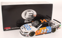 Clint Bowyer Signed LE #14 Toco Warranty 2019 Mustang Elite Autographed 1:24 Scale Stock Car (RCCA COA) at PristineAuction.com