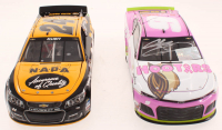 Lot of (2) Chase Elliott 1:24 Scale Stock Cars With Signed LE #9 Hooter's Give A Hoot 2019 Camaro ZL1 & LE #24 Napa Darlington 2016 SS (RCCA COA) at PristineAuction.com
