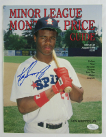 Ken Griffey Jr. Signed 1990 Minor League Monthly Price Guide Magazine (JSA COA) at PristineAuction.com