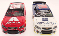 Lot of (2) Dale Earnhardt Jr. LE #88 Microsoft 2015 SS & LE #88 Axalta Last Ride 2017 SS 1:24 Scale Stock Cars at PristineAuction.com