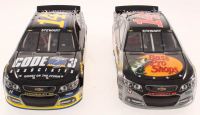 Lot of (2) Tony Stewart 1:24 Scale Stock Cars With LE #14 Bass Pro Shops 2014 SS & LE #14 Code 3 Associates 2014 SS at PristineAuction.com