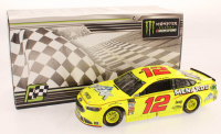 Ryan Blaney Signed LE #12 Menards Can-Am Duel #1 Win 2018 Fusion 1:24 Scale Stock Car (Pristine Authentic COA) at PristineAuction.com