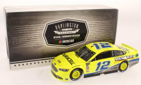 Ryan Blaney Signed LE #12 Menards Darlington 2018 Fusion 1:24 Scale Stock Car (Pristine Authentic COA) at PristineAuction.com