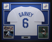 Steve Garvey Signed 35x43 Custom Framed Jersey (JSA COA) at PristineAuction.com