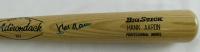 Hank Aaron Signed Rawlings Adirondack Big Stick Professional Model Baseball Bat (JSA LOA) at PristineAuction.com