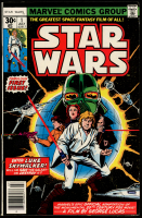 "1977 ""Star Wars"" Issue #1 Marvel Comic Book at PristineAuction.com"