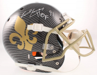 "Earl Campbell Signed Saints Full-Size Authentic On-Field Hydro-Dipped Helmet Inscribed ""HOF 91"" (Beckett COA) at PristineAuction.com"