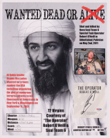 """Robert J. O'Neill Signed LE """"Bin Laden Wanted Dead or Alive"""" 13x16 Print (PSA COA) at PristineAuction.com"""