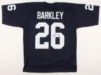 "Saquon Barkley Signed Jersey Inscribed ""We Are!"" (JSA COA) at PristineAuction.com"