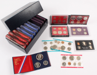 Lot of (19) United States Mint Proof Sets with 1976 Bicentennial Silver, 2002 Silver, 1980 Uncirculated at PristineAuction.com