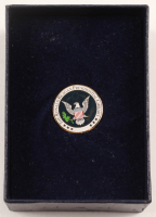 Vintage Ronald Reagan Presidential Library Tie Tac Pin at PristineAuction.com