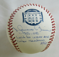 "Mariano Rivera Signed LE OML Baseball Inscribed ""95-08"", ""Last to Wear #42"" & ""Enter Sandman"" (Steiner Hologram) at PristineAuction.com"