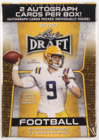 2020 Leaf Draft Football Blaster Box with (20) Packs at PristineAuction.com