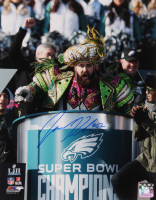 Jason Kelce Signed Eagles 11x14 Photo (Becket COA) at PristineAuction.com