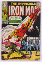 "Vintage 1968 ""The Invincible Iron Man"" Issue #10 Marvel Comic Book at PristineAuction.com"