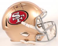 Frank Gore Signed 49ers Full-Size Speed Helmet (JSA COA) at PristineAuction.com