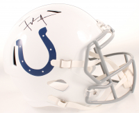 Frank Gore Signed Colts Full-Size Speed Helmet (JSA COA) at PristineAuction.com