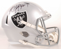 Bo Jackson Signed Raiders Full-Size Speed Helmet (Beckett COA & Jackson Hologram) at PristineAuction.com