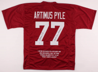 "Artimus Pyle Signed Career Highlight Stat Jersey Inscribed ""Sweet Home Alabama"" (PSA COA) at PristineAuction.com"