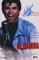"Lou Diamond Phillips Signed ""La Bamba"" 12x18 Photo (AutographCOA COA) at PristineAuction.com"