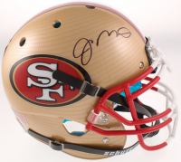 Joe Montana Signed 49ers Full-Size Authentic On-Field Hydro Dipped Helmet (Beckett COA) at PristineAuction.com