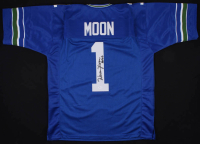 "Warren Moon Signed Jersey Inscribed ""HOF 06"" (JSA COA) at PristineAuction.com"