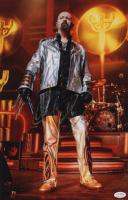 Rob Halford Signed Judas Priest 12x18 Photo (AutographCOA COA) at PristineAuction.com