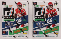 Lot of (2) 2019 Panini Donruss Football Blaster Boxes with (11) Packs Each at PristineAuction.com