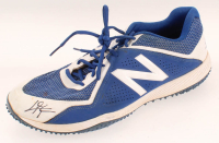 Chris Taylor Signed Pair of Game-Used New Balance Shoes (LOJO Hologram) at PristineAuction.com
