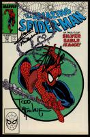 "Stan Lee, David Michiline, & Todd McFarlane Signed 1988 ""The Amazing Spider-Man"" Issue #301 Marvel Comic Book (JSA ALOA) at PristineAuction.com"